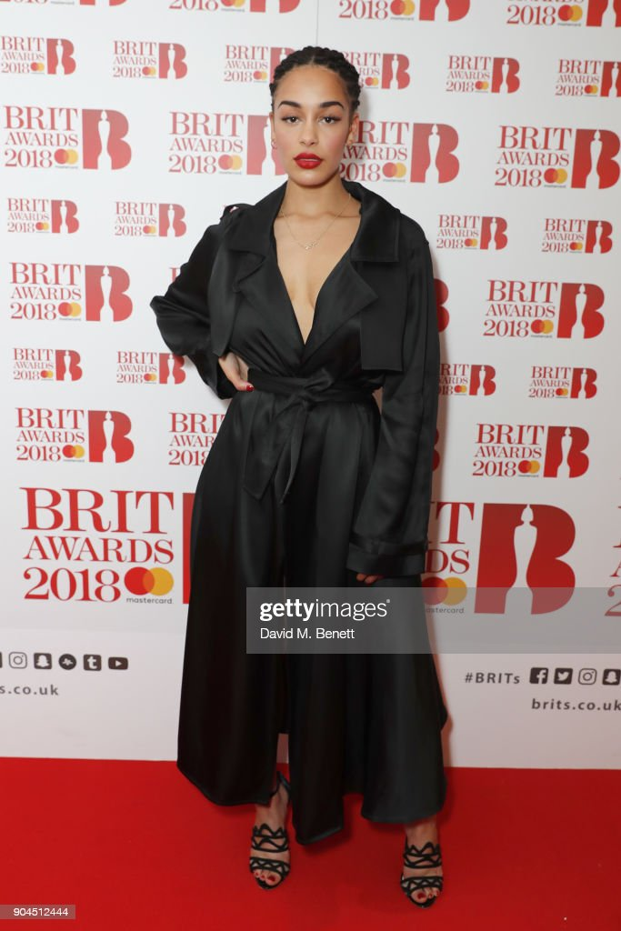 Images from this event are only to be used in relation to this event. Jorja Smith attends the BRIT Awards 2018 nominations at ITV Studios on January 13, 2018 in London, England.