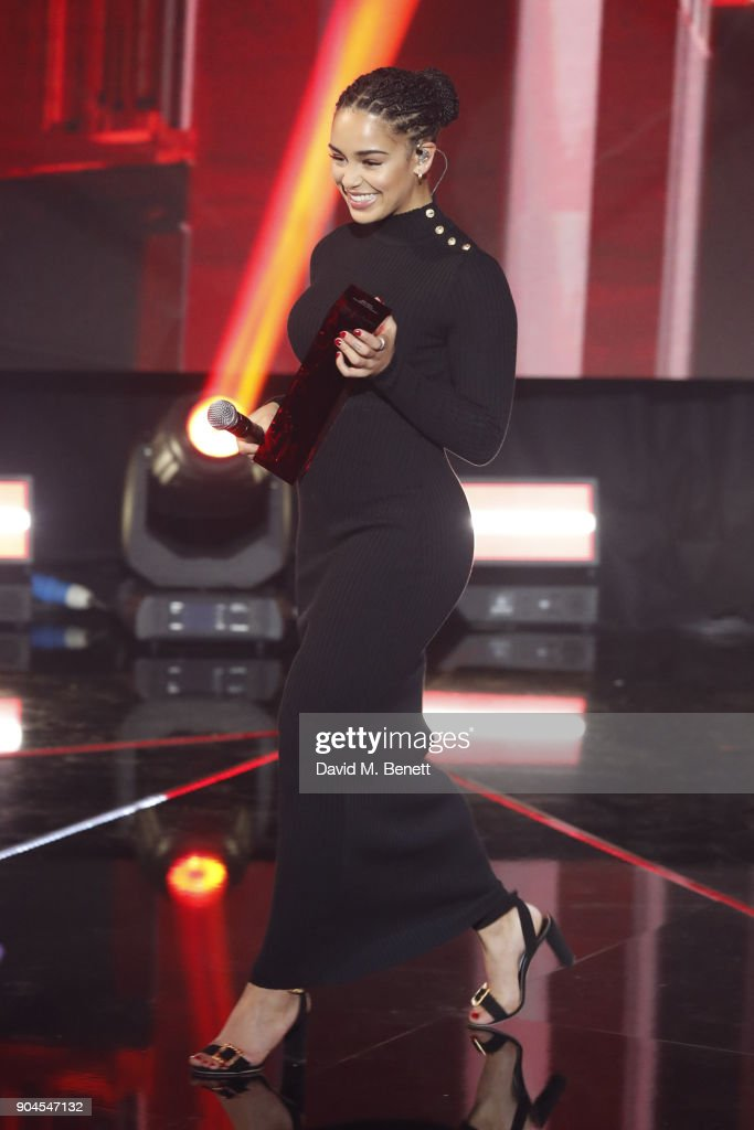 Images from this event are only to be used in relation to this event. Jorja Smith performs at the BRIT Awards 2018 nominations at ITV Studios on January 13, 2018 in London, England.