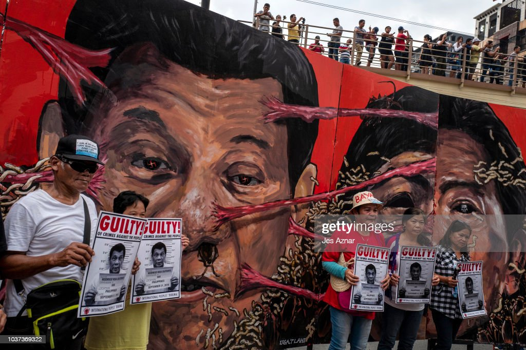 Filipinos Rally Against President Duterte During Martial Law Anniversary