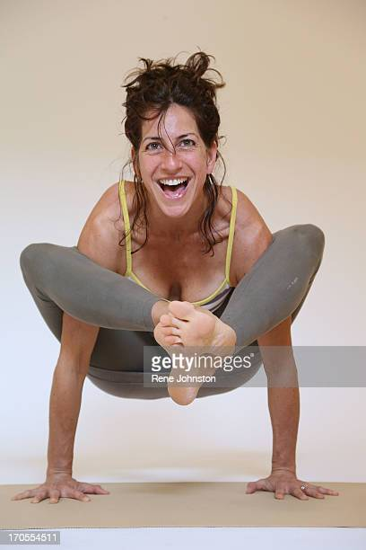 Images of people from Octopus Garden Holistic Yoga Centre of all shapes sizes genderS doing individual yoga poses against a backdrop so that design...