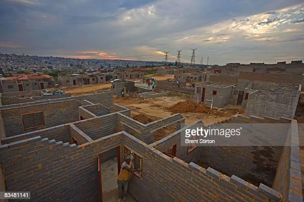 Images of the Alexandra Renewal Project Alexandra Township June 4 2008 in Johannesburg South Africa The South African government have so far built...