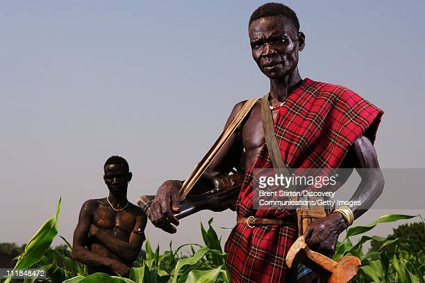 Images of the Bume people on December 14 2007 in the Omo Valley South West Ethiopia