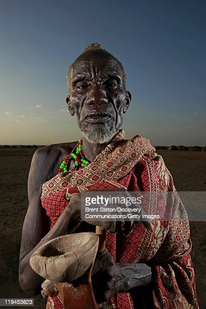 Images of the Dassanech people in the Lower Omo Valley South West Ethiopia 14 December 2007