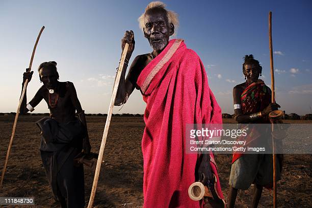 Images of the Dassanech people on December 14 2007 in the Lower Omo Valley South West Ethiopia