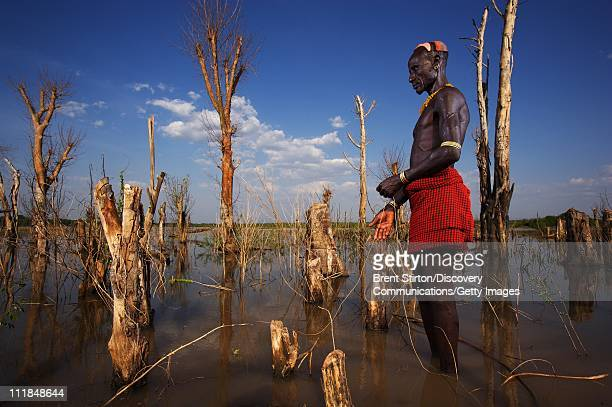 Images of the Karo people on December 14 2007 in the Omo Valley South West Ethiopia