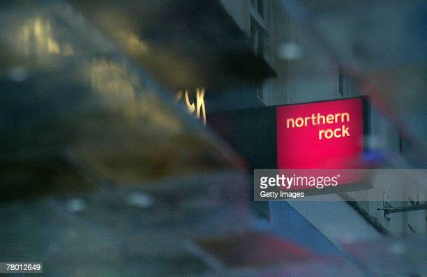 Images of the Northern Rock branch in Northumberland Street on November 20 2007 in Newcastle England The share price of the troubled bank has dropped...