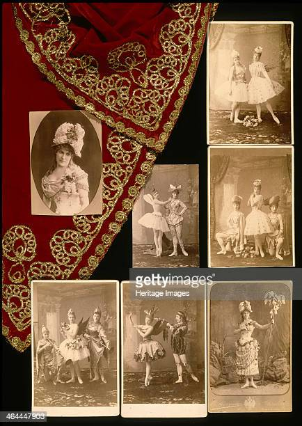 Images of the world premiere of the ballet The Sleeping Beauty by Pyotr Tchaikovsky