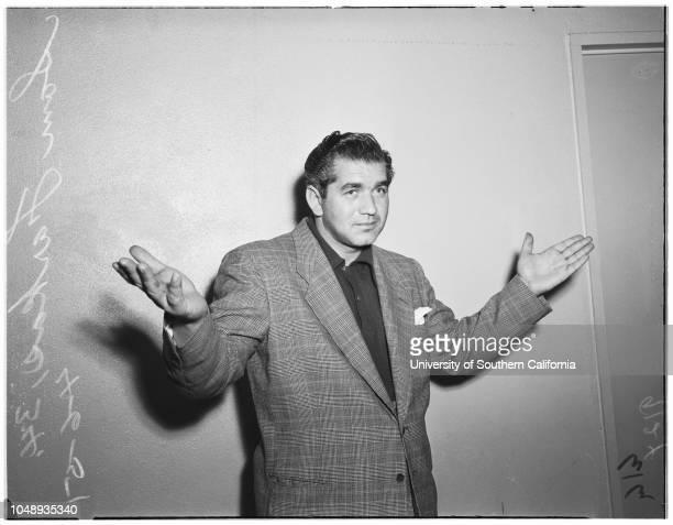Raid suspects April 6 1951 John Purcell 31 yearsSheila McDonald 25 yearsGloria Joffee 22 yearsKal Rubin 32 yearsCocker Spaniel 'Coffee'Barrie S...