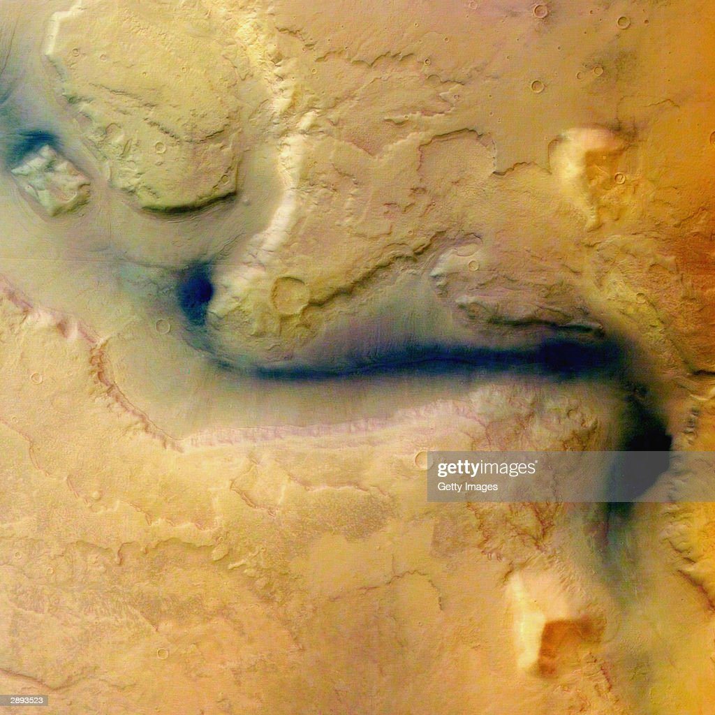 The European Space Agency Release Images Of Mars : News Photo
