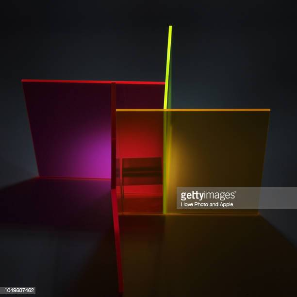 images with acrylic material and led light source - アクリル ストックフォトと画像