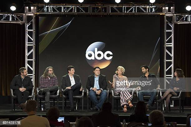 TOUR 2017 Imaginary Mary Session The cast and executive producers of Imaginary Mary addressed the press at Disney | ABC Television Group's Winter...