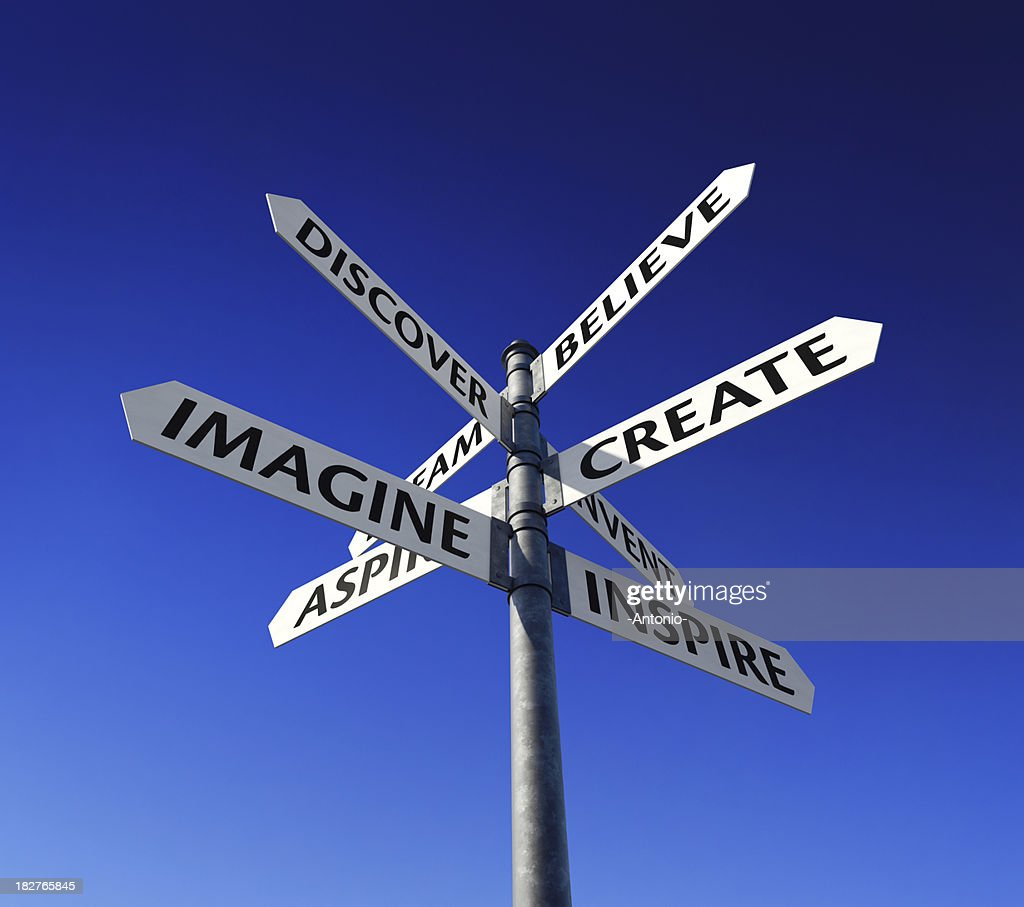 Imagine, Create, Inspire : Stock Photo