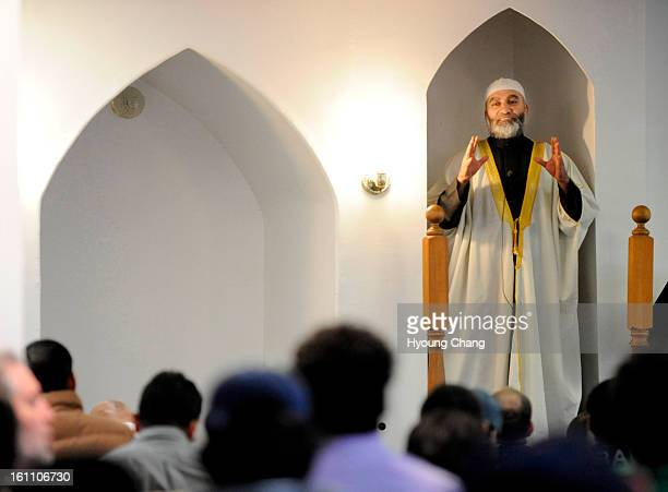 Imam Hamdi Basha is in the service at Denver Islamic Society on Friday Anwar alAwlak served as a teacher at the center in the 90's The Obama...