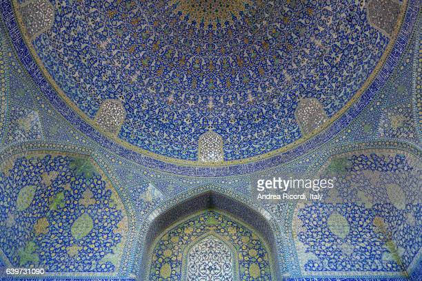 Imam mosque blue dome, Isfahan, Iran