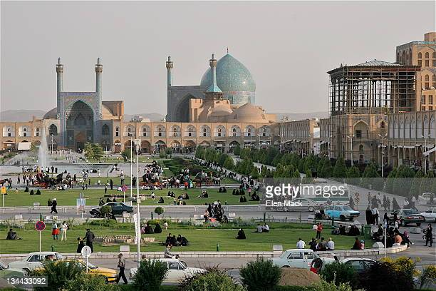 Imam Mosque on Naqsh-e Jahan Square