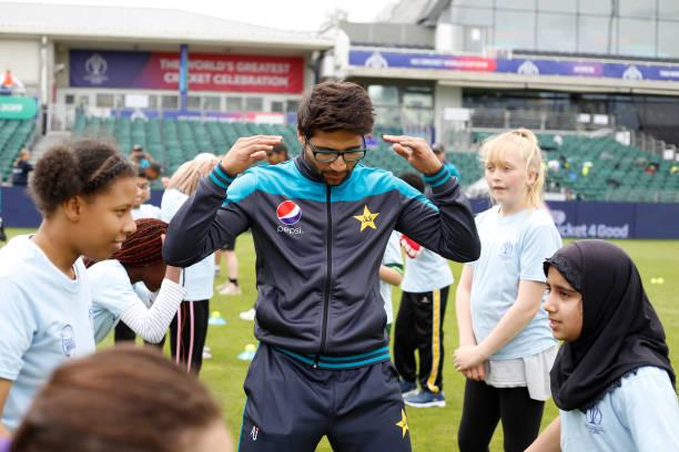 GBR: Cricket 4 Good Clinic: Pakistan - ICC Cricket World Cup 2019