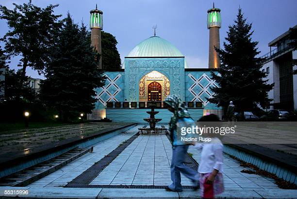 ImamAli mosque at the Auenalster during the FIFA World Cup Germany Hamburg City Feature on September 1 2005 in Hamburg Germany