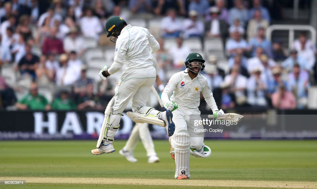 England v Pakistan: NatWest 1st Test - Day Four
