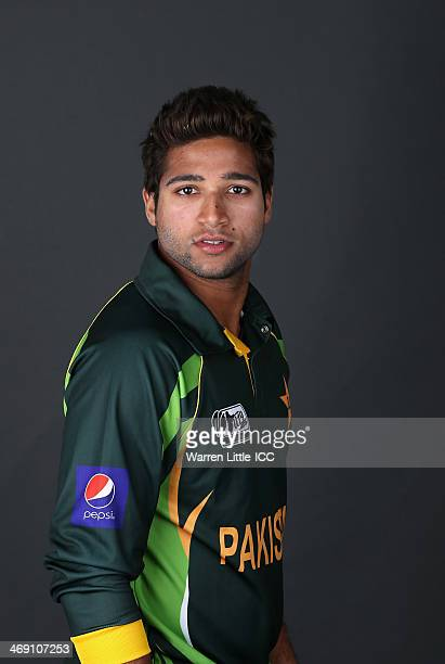 ImamulHaq of Pakistan poses for a portrait ahead of the ICC U19 Cricket World Cup at the ICC offices on February 11 2014 in Dubai United Arab Emirates