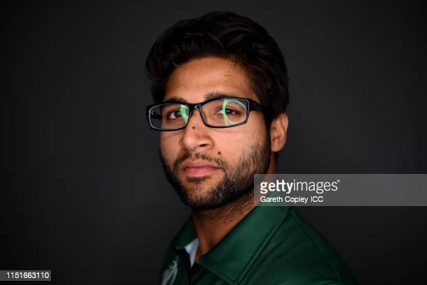 ImamulHaq of Pakistan poses for a portrait prior to the ICC Cricket World Cup 2019 at on May 25 2019 in Cardiff Wales