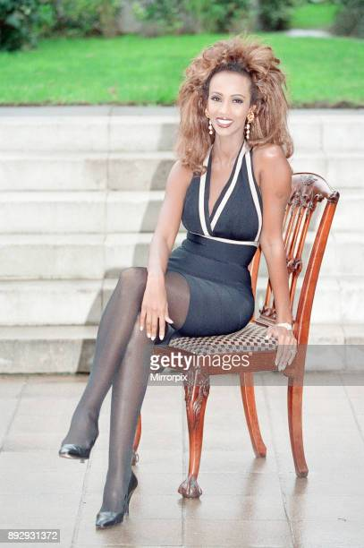 Iman actress in London to promote her role in new film Star Trek VI The Undiscovered Country the former fashion model stars as a beautiful alien...