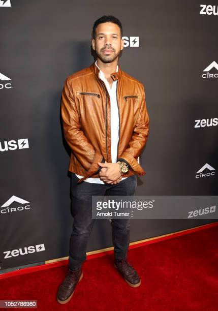 Iman ìAlphabetí Croon attends the ZEUS New Series Premiere Party X CIROC Black Raspberry on October 19 2018 in Burbank California