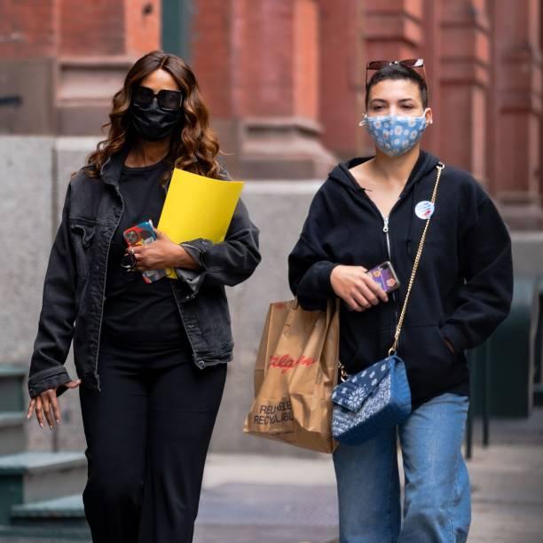 NY: Celebrity Sightings In New York City - April 19, 2021