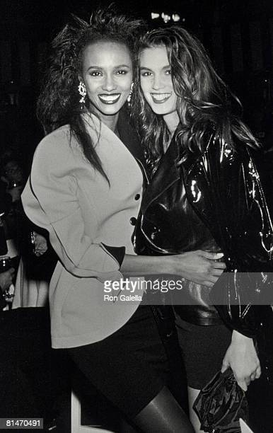 Iman and Cindy Crawford