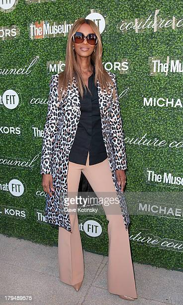 Iman attends 2013 Couture Council Fashion Visionary Awards at David H Koch Theater Lincoln Center on September 4 2013 in New York City
