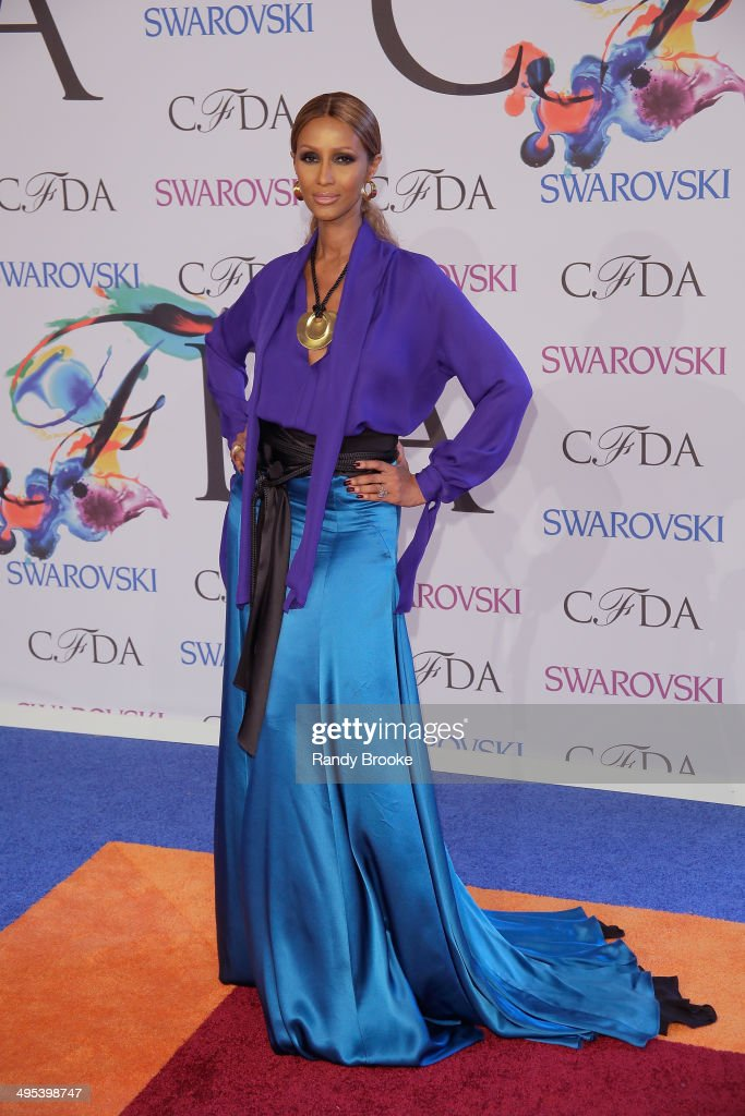 Iman attends at Alice Tully Hall, Lincoln Center on June 2, 2014 in New York City.