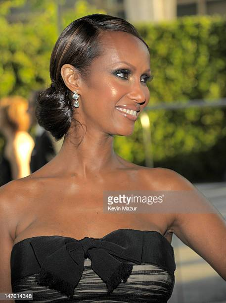Iman attends the 2010 CFDA Fashion Awards at Alice Tully Hall, Lincoln Center on June 7, 2010 in New York City.