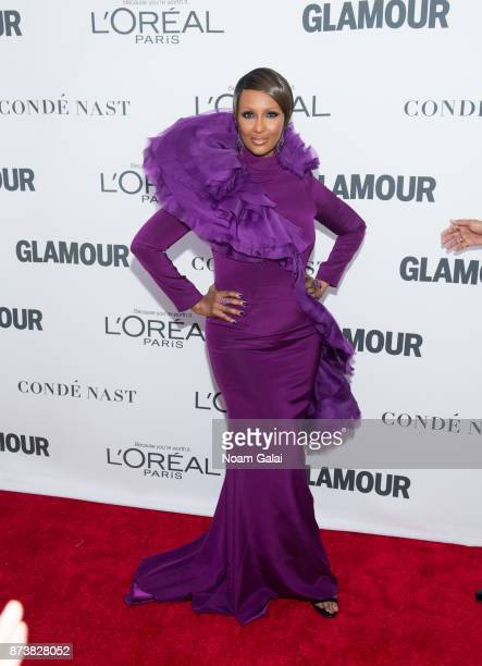 Iman attends the 2017 Glamour Women of The Year Awards at Kings Theatre on November 13 2017 in New York City