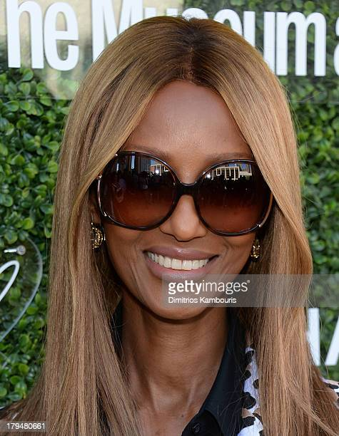 Iman attends The Couture Council of The Museum at the Fashion Institute of Technology hosted luncheon honoring Michael Kors with the 2013 Couture...