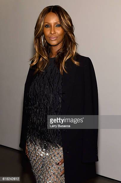 Iman attends the God's Love We Deliver Golden Heart Awards on October 17 2016 in New York City