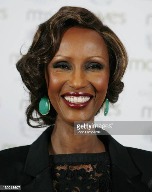 Iman attends the Moves 2011 Power Women Awards at Riverpark on November 9 2011 in New York City
