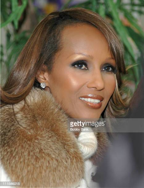 Iman during Iman Signs Her Book 'The Beauty of Color' at Sam's Club in Secaucus New Jersey December 10 2005 at Sam's Club Park Place in Secaucus New...