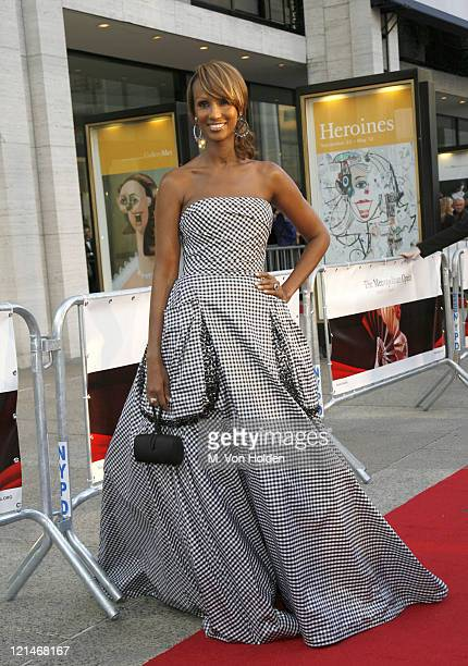 Iman during Madama Butterfly Opening Night Starting the Lincoln Center Metropolitan Opera 20062007 Season at Lincoln Center in New York City New York...