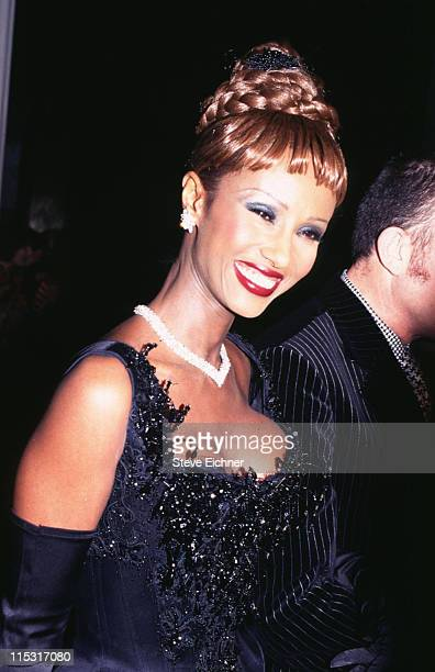 Iman during The Costume Institute Gala Honors Christian Dior at Metropolitan Museum of Art in New York City, New York, United States.