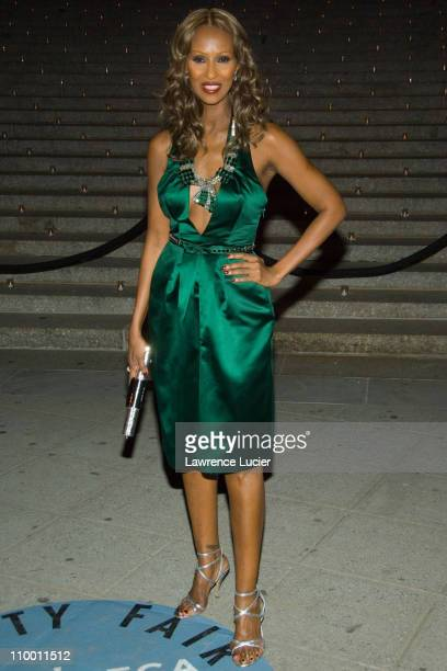 Iman during Vanity Fair Hosts The Sixth Annual Tribeca Film Festival Opening Night Party April 24 2007 at New York State Supreme Court in New York...