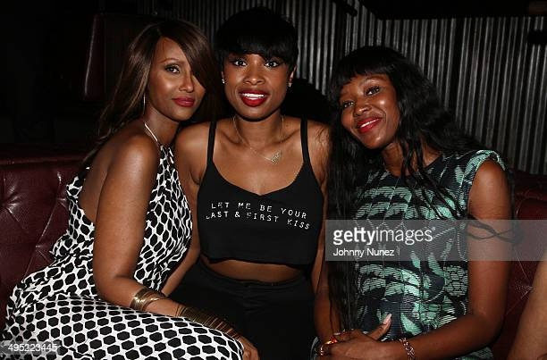 Iman Jennifer Hudson and Naomi Campbell attend Beth Ann Hardison's 2014 CFDA Award Celebration at Marquee on June 1 2014 in New York City