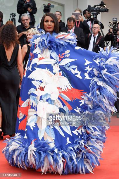 Iman Mohamed Abdulmajid at the 76th Venice International Film Festival 2019. Opening ceremony and premiere of the film La Veritè. Venice , August...