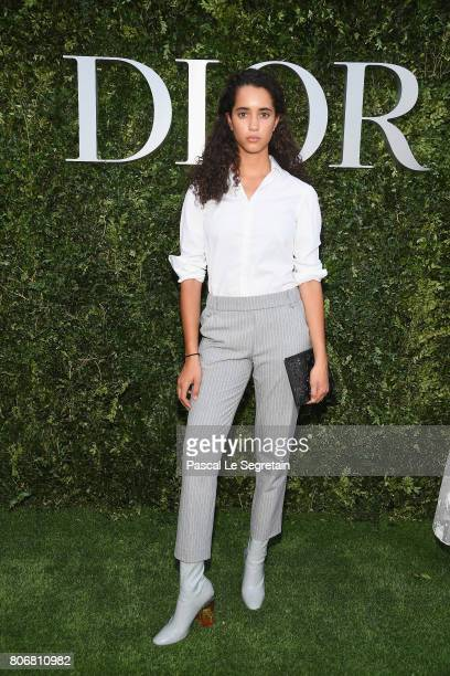 Iman Perez attends 'Christian Dior couturier du reve' Exhibition Launch celebrating 70 years of creation at Musee Des Arts Decoratifs on July 3 2017...