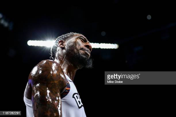 Iman Shumpert of the Brooklyn Nets in action against the Denver Nuggets at Barclays Center on December 08 2019 in New York City Brooklyn Nets...