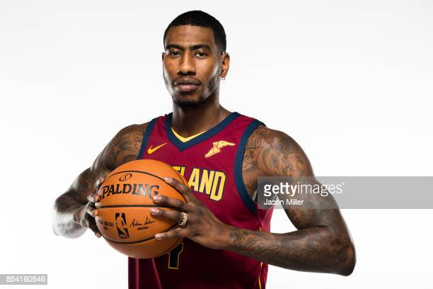 Iman Shumpert of the Cleveland Cavaliers at Cleveland Clinic Courts on September 25 2017 in Independence Ohio NOTE TO USER User expressly...