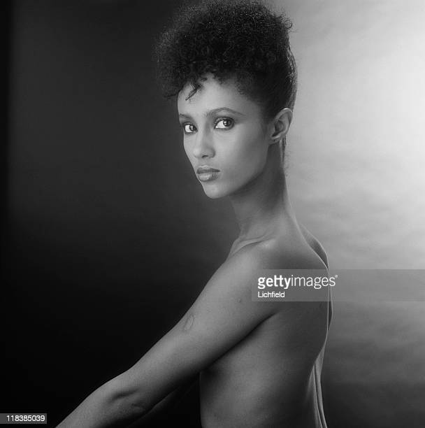 Iman Somali born supermodel actress and businesswoman New York USA 25th November 1980