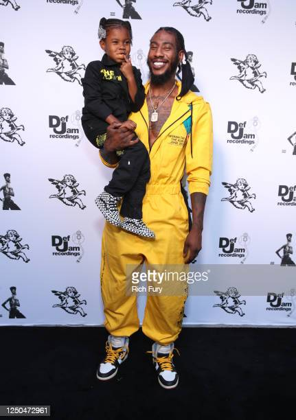 Iman Tayla Shumpert Jr and Iman Shumpert attend the Teyana Taylor The Album Listening Party on June 17 2020 in Beverly Hills California