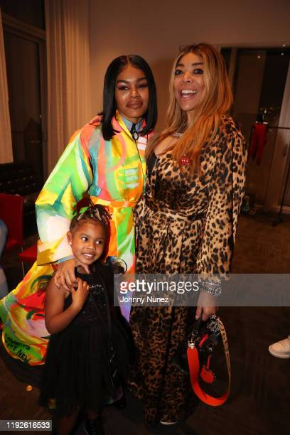 Iman Tayla Shumpert Jr Teyana Taylor and Wendy Williams backstage at Faena Forum on December 06 2019 in Miami Beach Florida