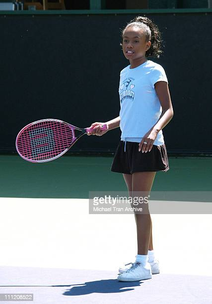 Imani Hakim during Everybody Hates Chris But Everybody Loves Kids 8th Annual Tennis for Tots Tournament at Los Angeles Tennis Club in Los Angeles...