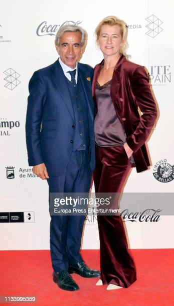 Imanol Arias and Ana Duato attend Malaga Film Festival 2019 Cocktail at Circulo de Bellas Artes on March 05 2019 in Madrid Spain