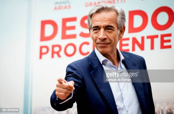 Imanol Arias Attends 'Despido Procedente' Madrid Photocall on June 27 2017 in Madrid Spain